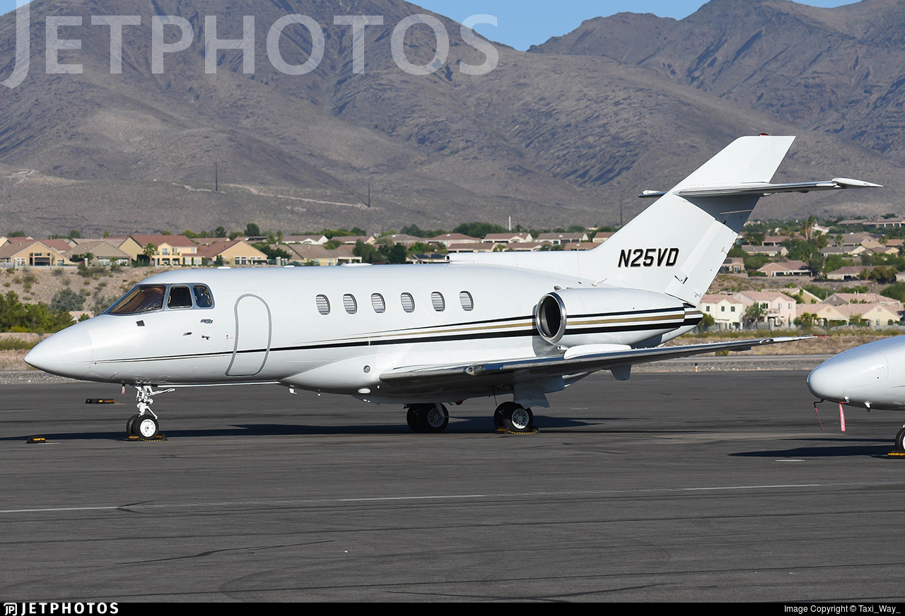 N25VD - British Aerospace BAe 125-800A - Private