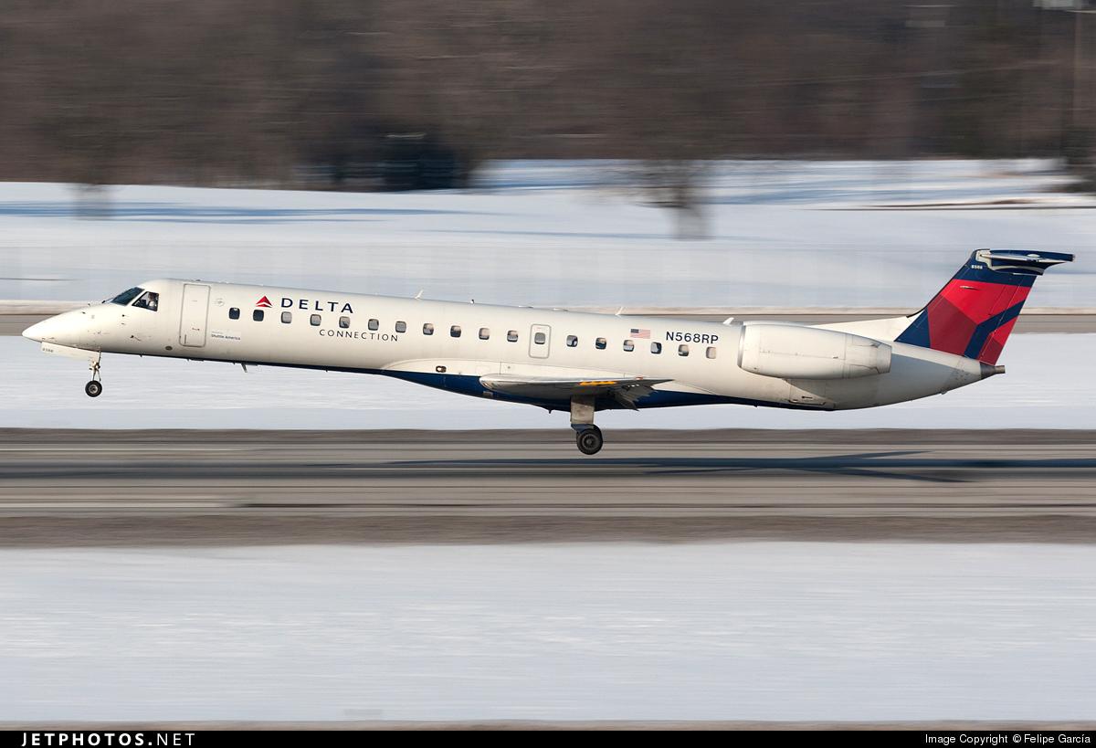 N568RP - Embraer ERJ-145LR - Delta Connection (Shuttle America)