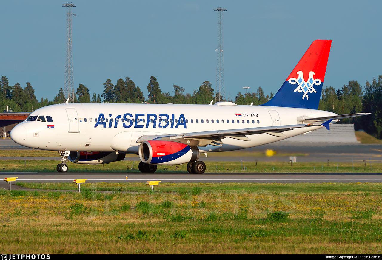 YU-APB - Airbus A319-132 - Air Serbia