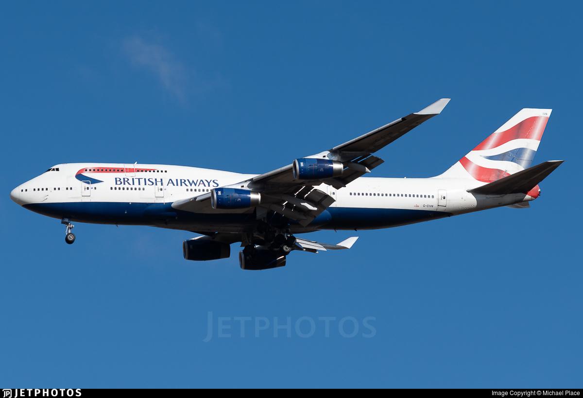 G-CIVN - Boeing 747-436 - British Airways