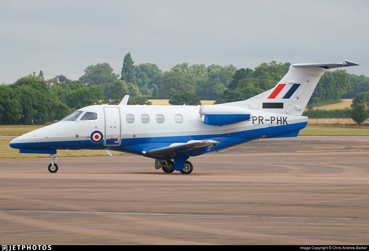 PR-PHK - Embraer Phenom T.1 - United Kingdom - Royal Air Force (RAF)