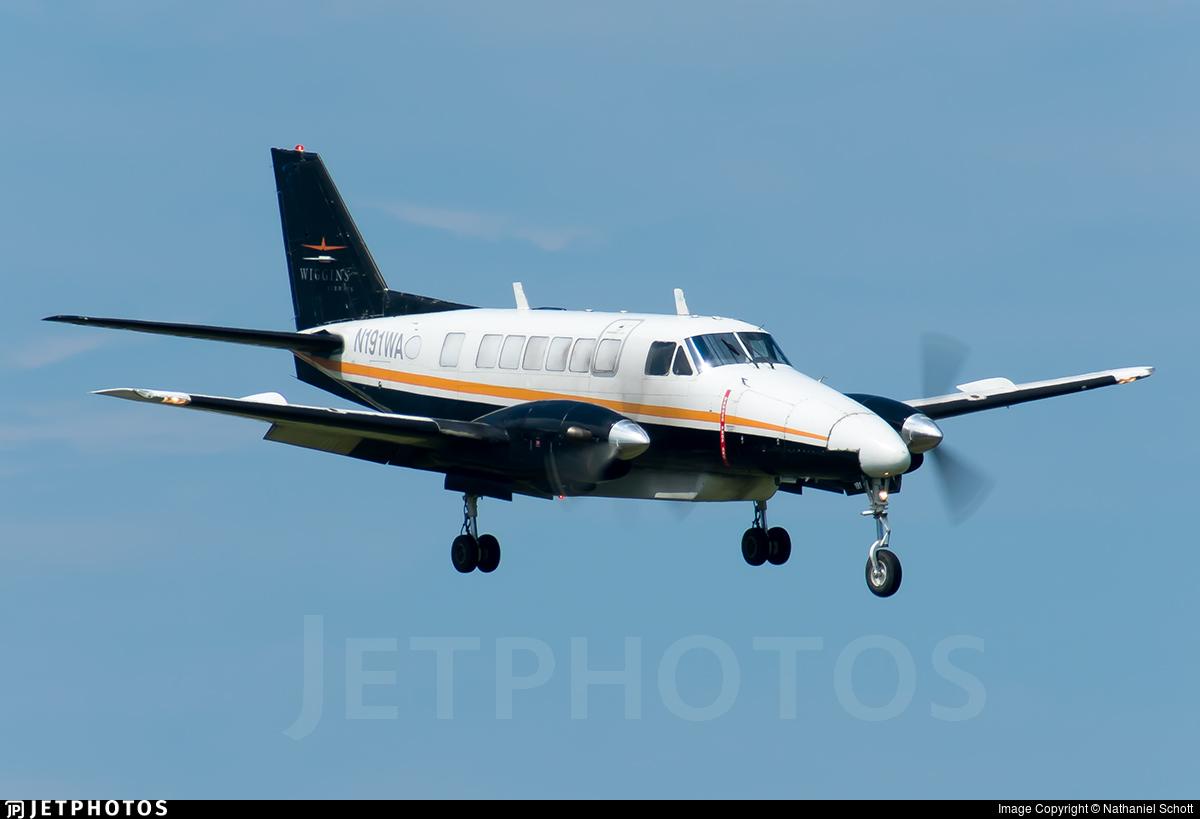 N191WA - Beech 99 Airliner - Wiggins Airways