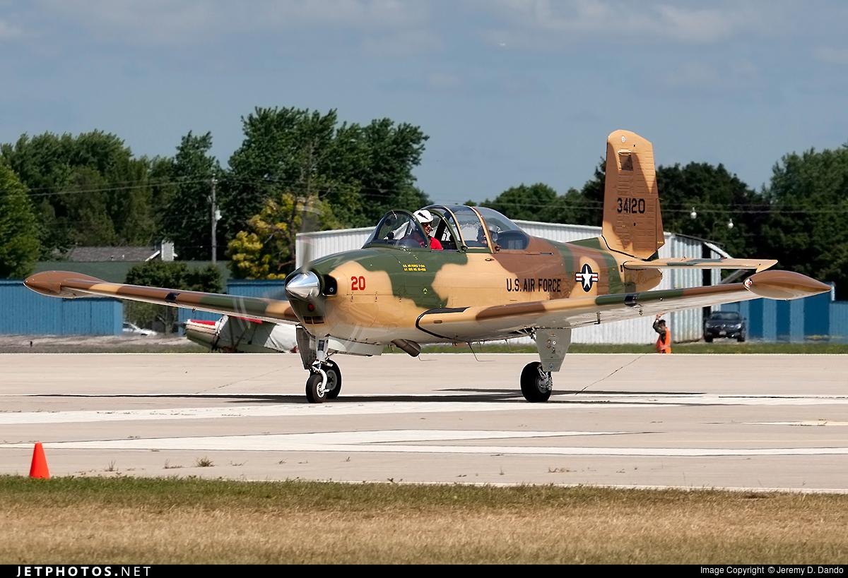 N34SZ - Beechcraft A45 Mentor - Private