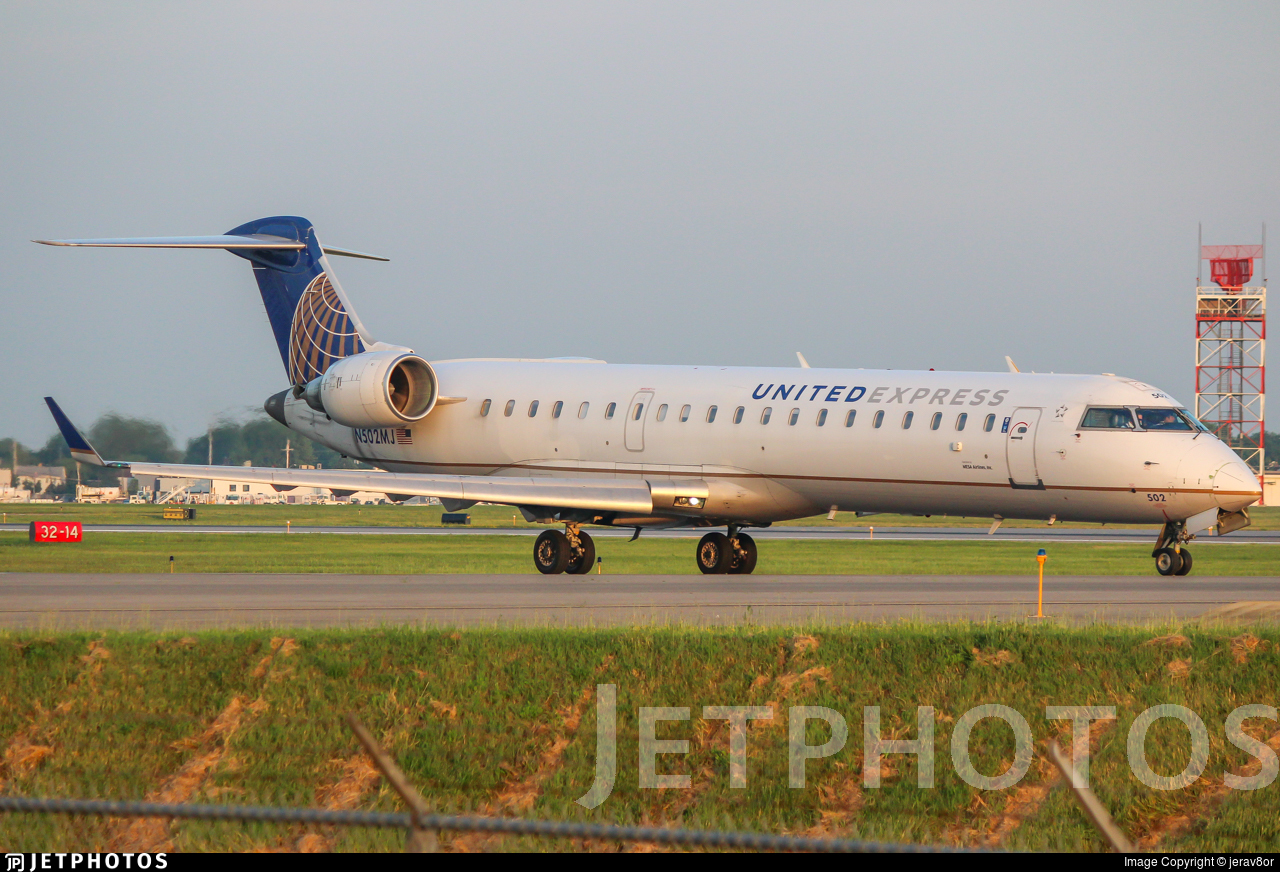 N502MJ - Bombardier CRJ-701ER - United Express (Mesa Airlines)