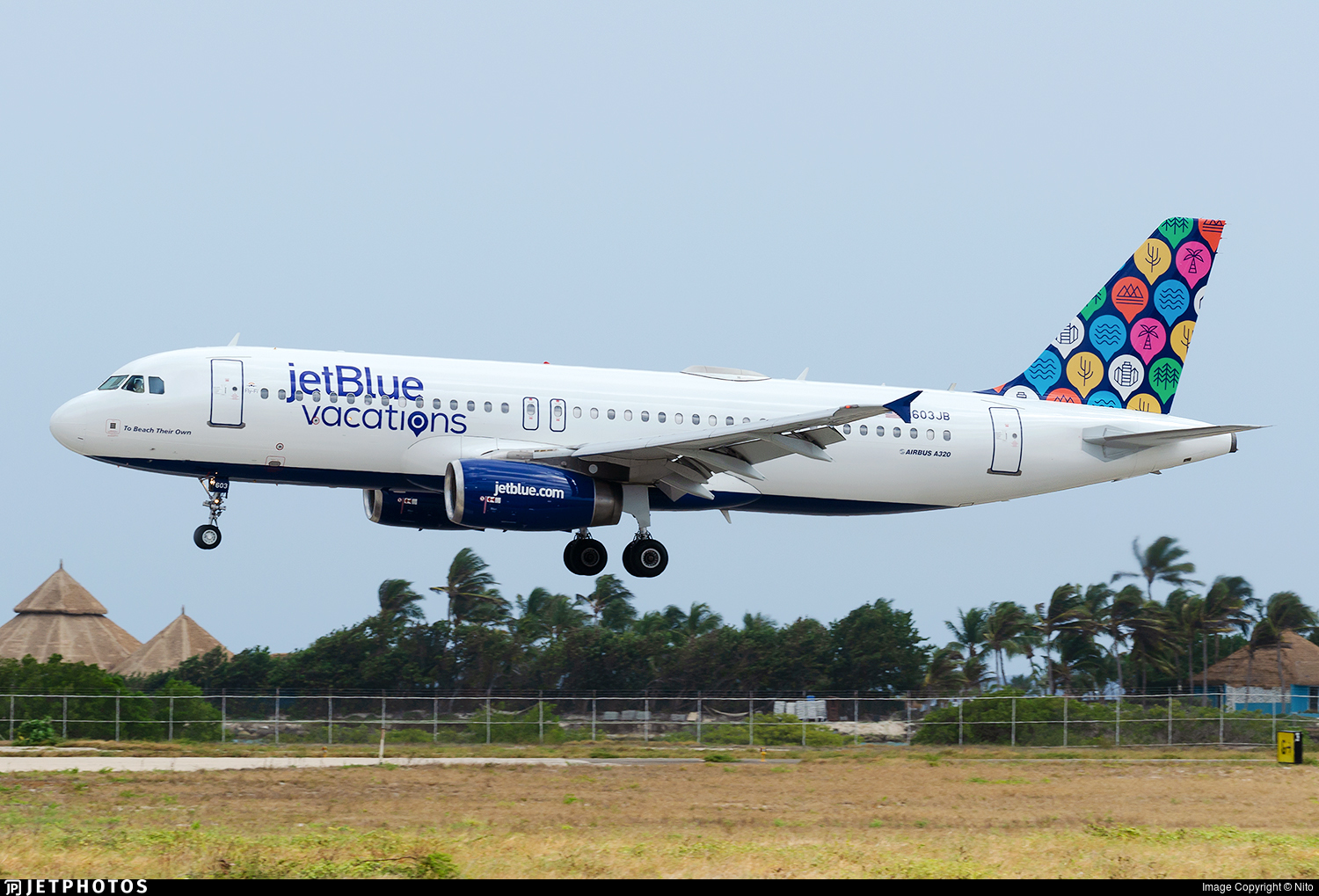 N603JB  Airbus A320232  jetBlue Airways  Nito  JetPhotos