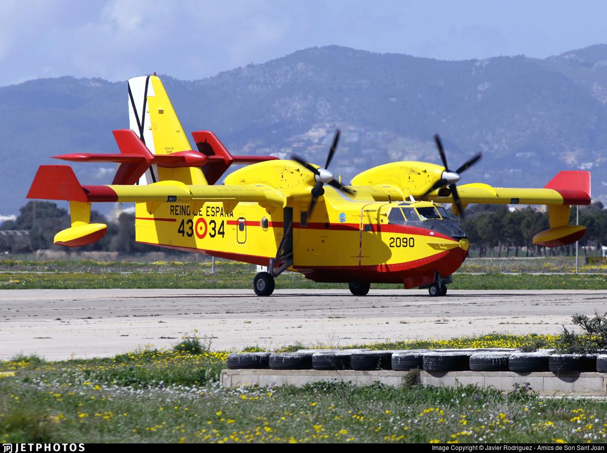 UD.14-04 - Canadair CL-415 - Spain - Air Force