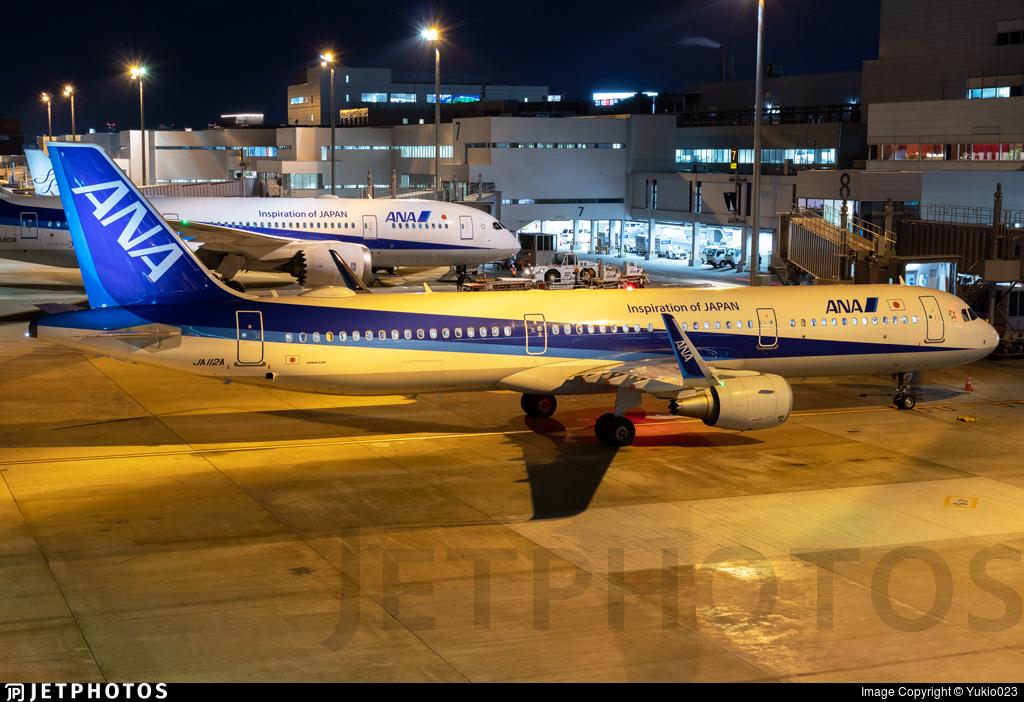JA112A - Airbus A321-211 - All Nippon Airways (ANA)