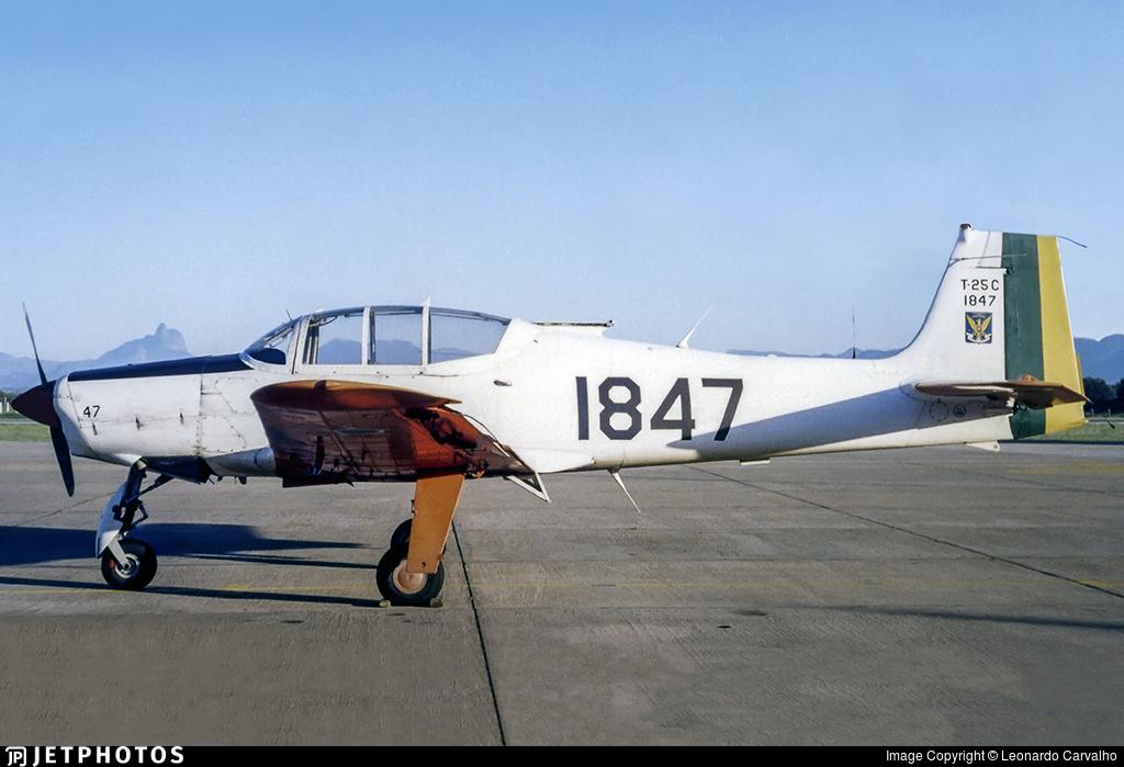 FAB1847 - Neiva T-25C Universal - Brazil - Air Force