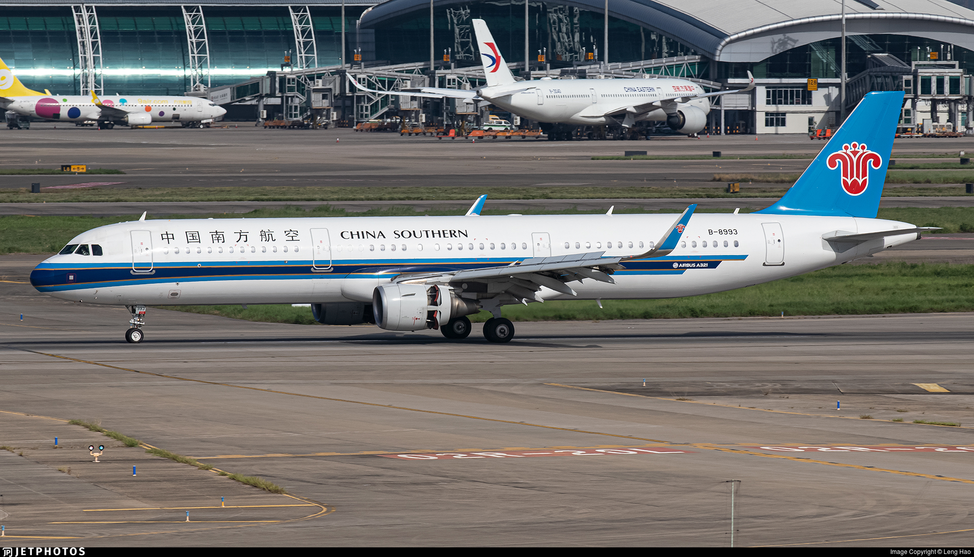 B-8993 - Airbus A321-211 - China Southern Airlines