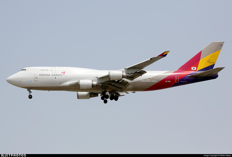 HL7413 | Boeing 747-48E(BDSF) | Asiana Cargo | Stefan ...