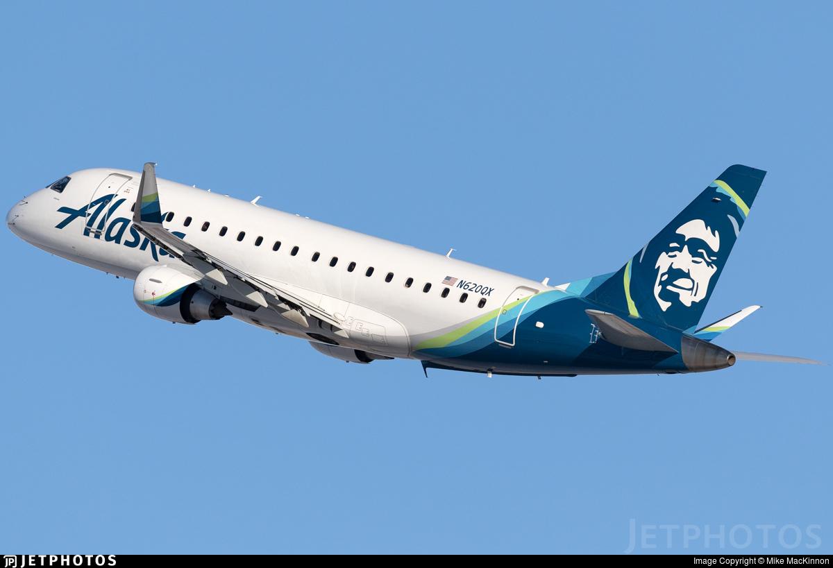 N620QX - Embraer 170-200LR - Alaska Airlines (Horizon Air)