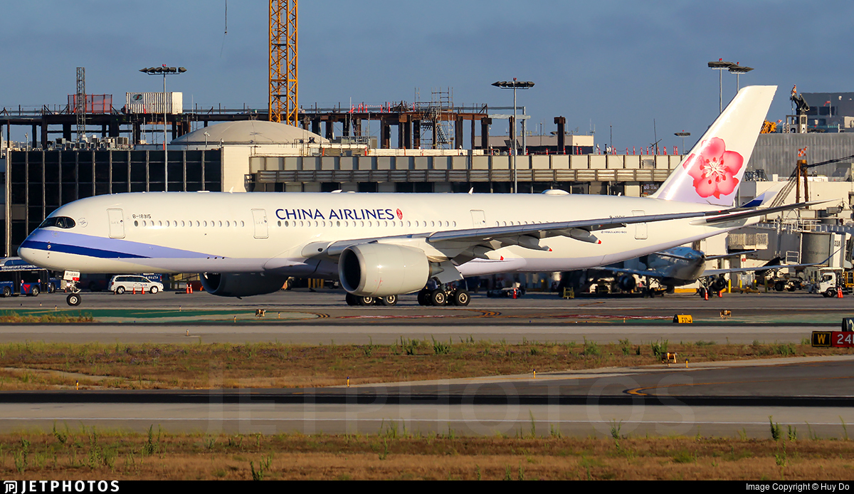 B-18915 - Airbus A350-941 - China Airlines