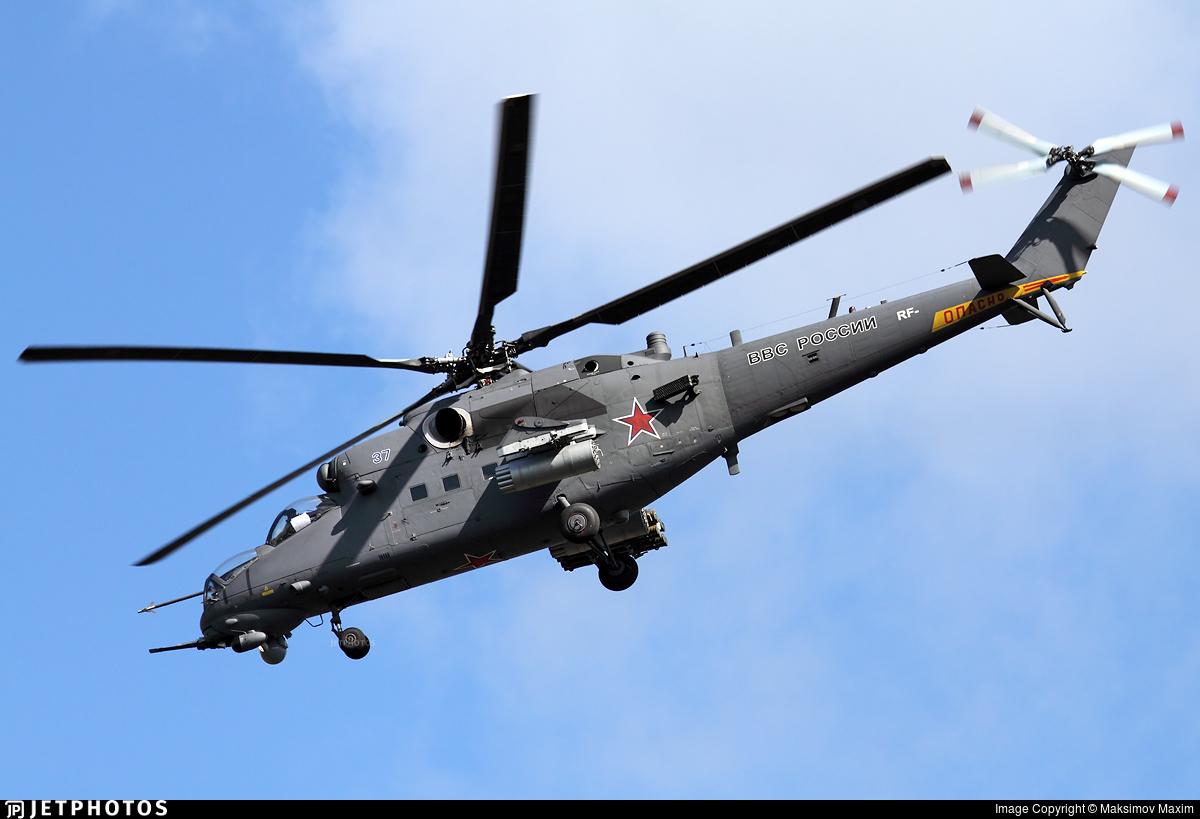 37 - Mil Mi-35M Hind - Russia - Air Force