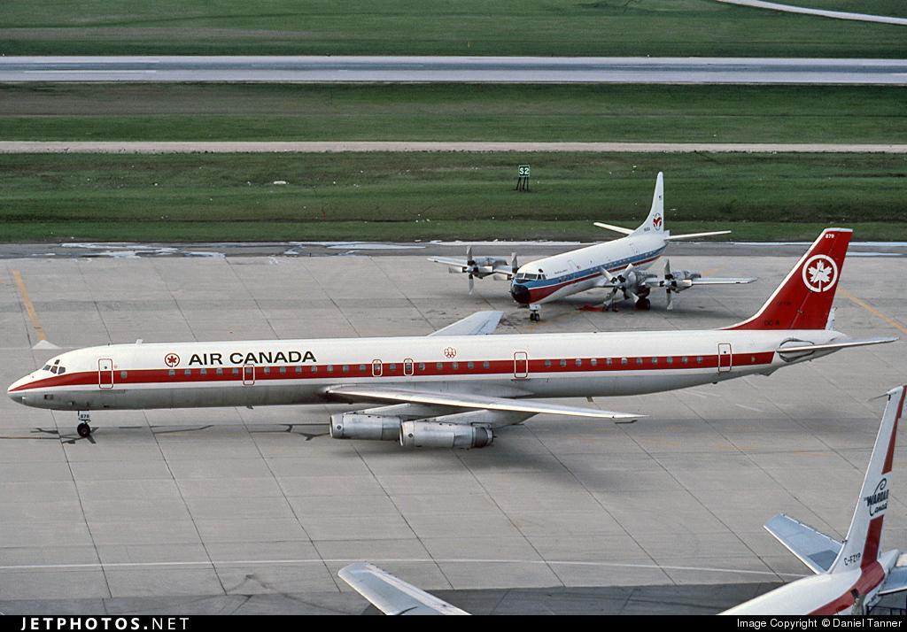 CF-TIX - Douglas DC-8-63 - Air Canada