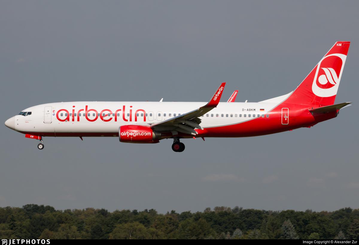 D-ABMK - Boeing 737-86J - Air Berlin