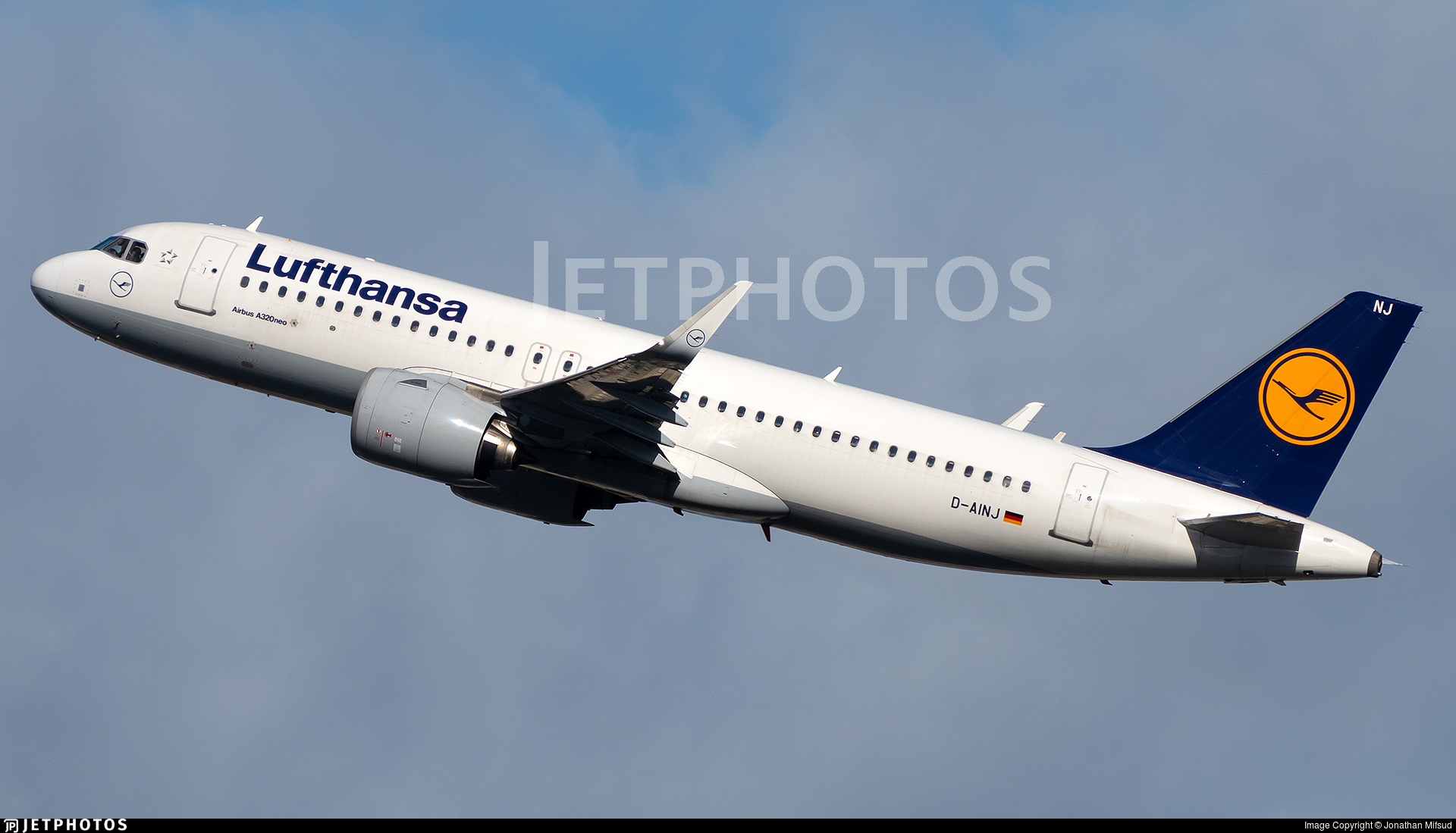 D-AINJ - Airbus A320-271N - Lufthansa