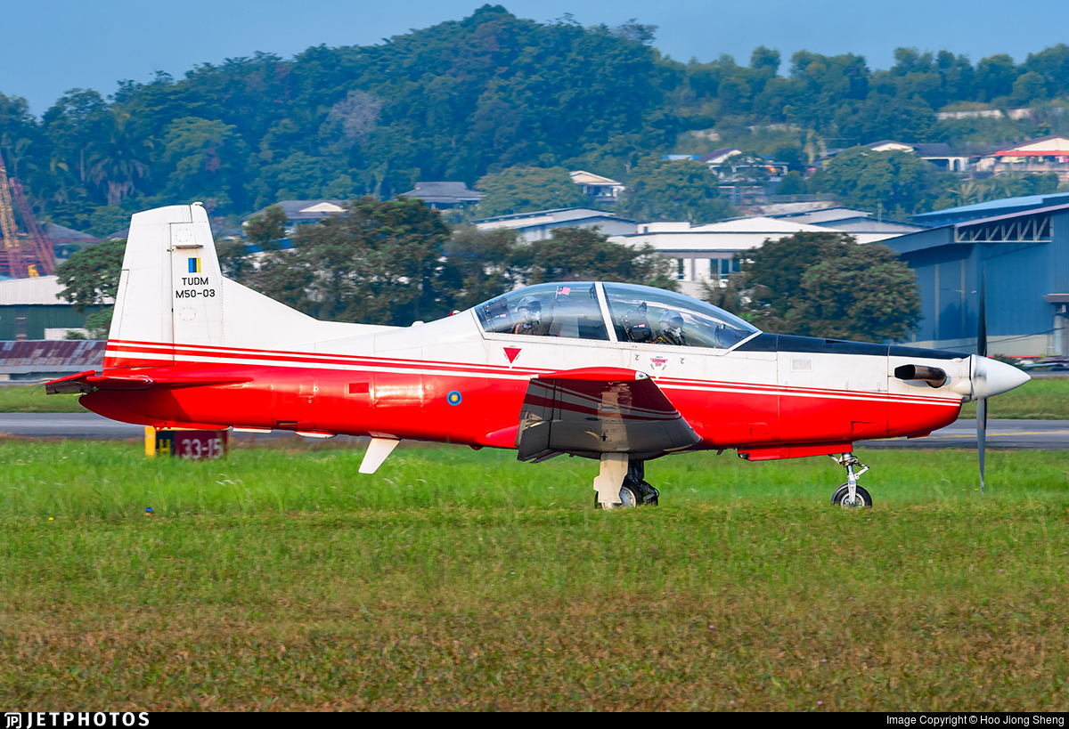 M50-03 - Pilatus PC-7 Mk.II - Malaysia - Air Force