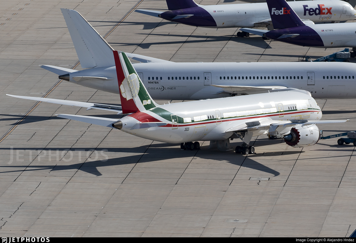 TP-01 - Boeing 787-8 Dreamliner - Mexico - Air Force