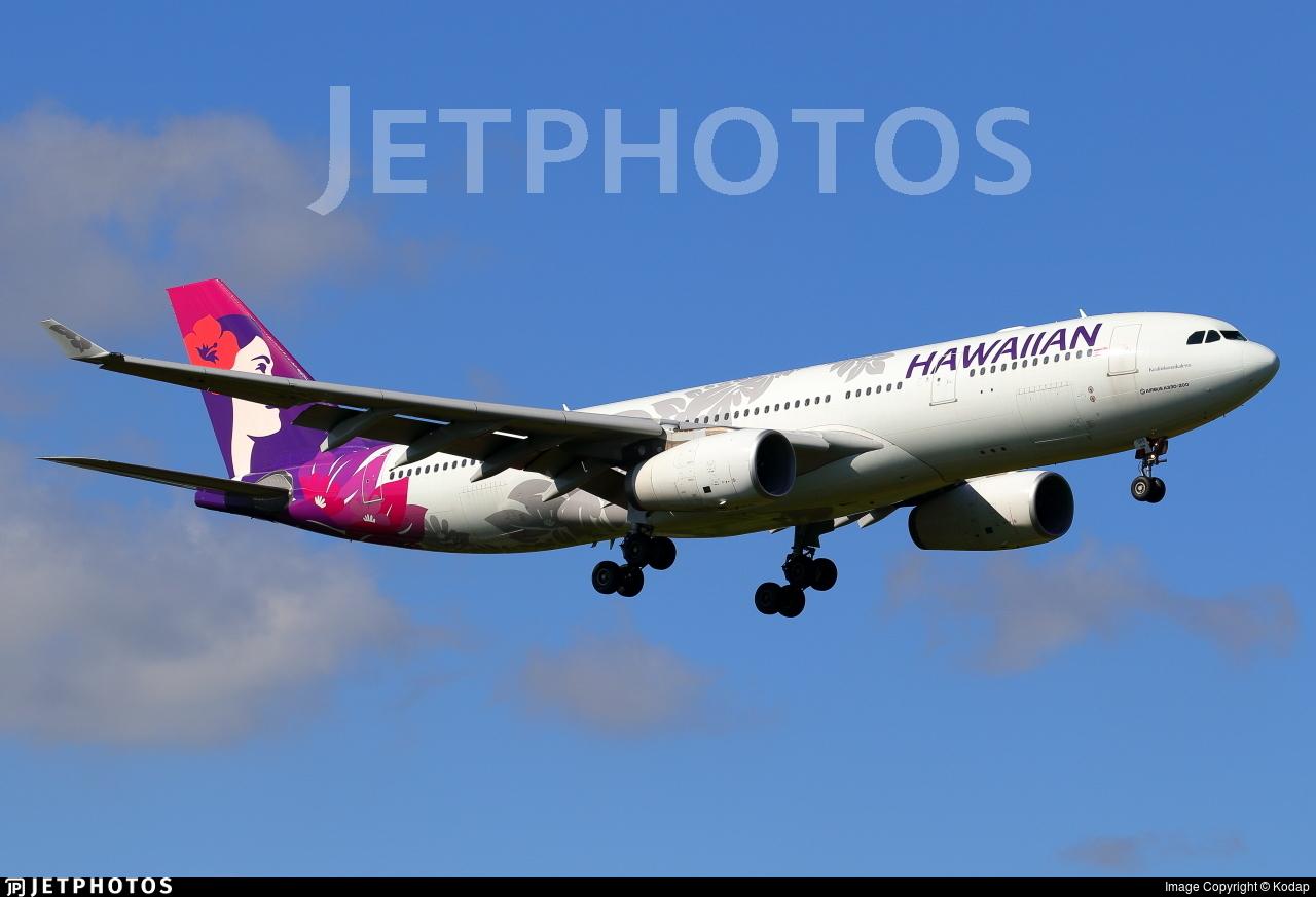 N389HA - Airbus A330-243 - Hawaiian Airlines