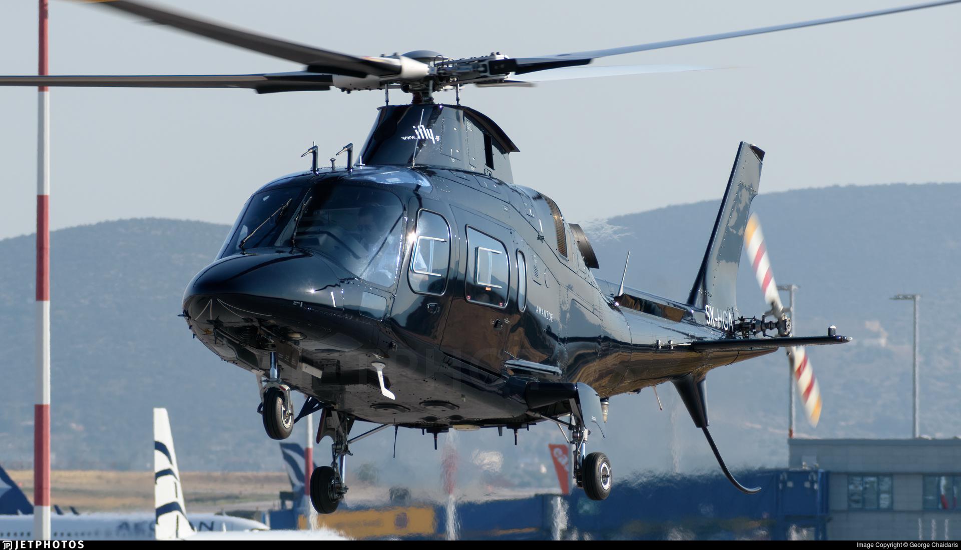 SX-HGA - Agusta-Westland AW-109E Power Elite - IFLY