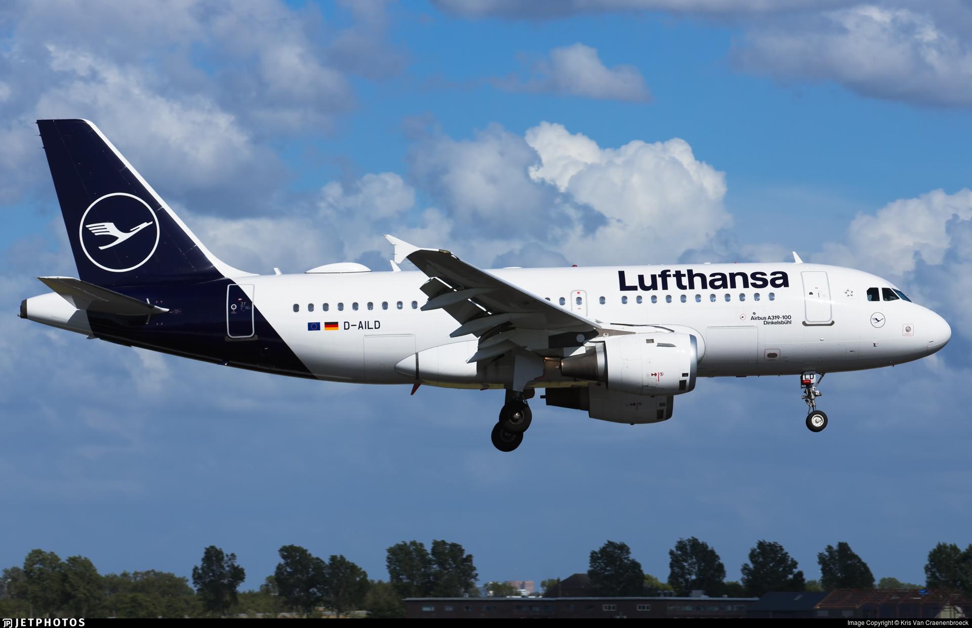 D-AILD - Airbus A319-114 - Lufthansa