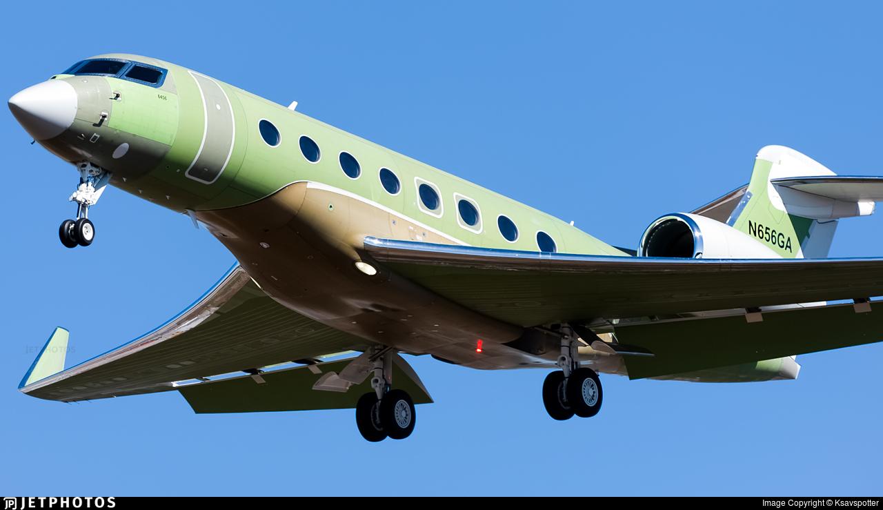 N656GA - Gulfstream G650ER - Gulfstream Aerospace