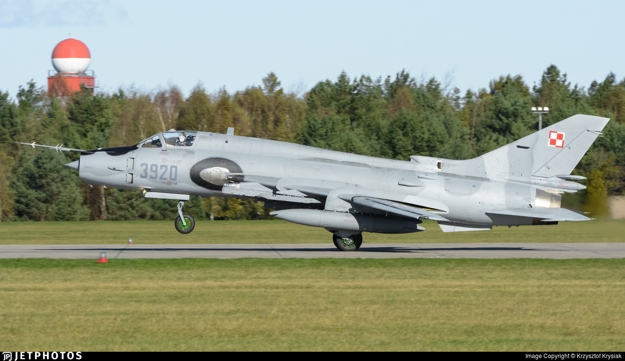 3920 - Sukhoi Su-22M4 Fitter K - Poland - Air Force