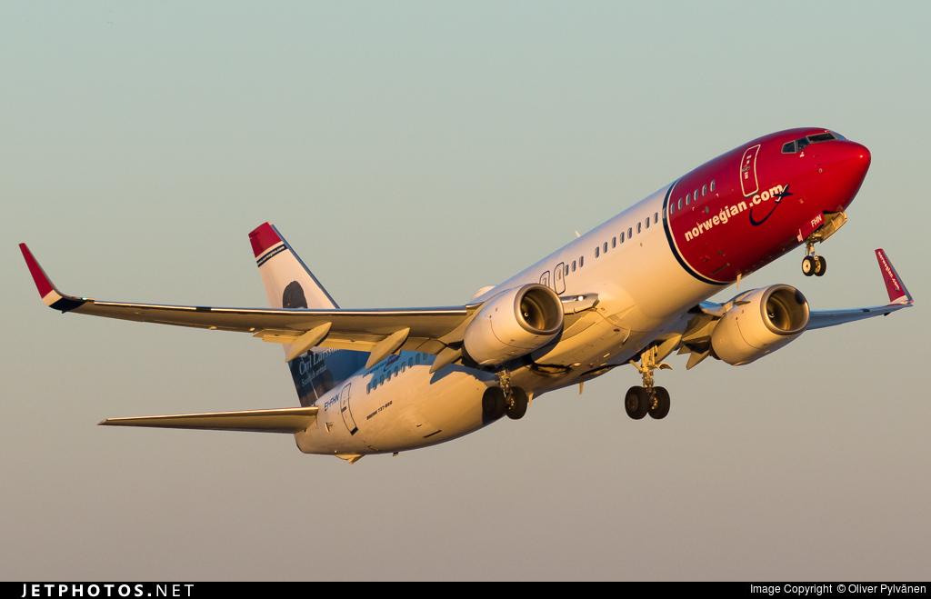 EI-FHN - Boeing 737-8JP - Norwegian