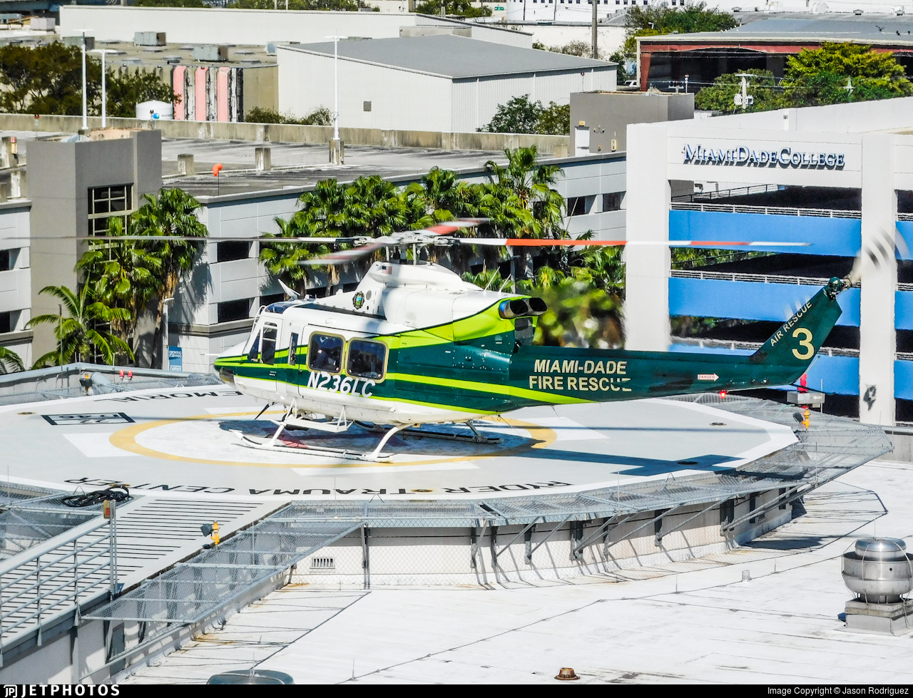 N236LC - Bell 412EP - United States - Miami Dade Fire Rescue