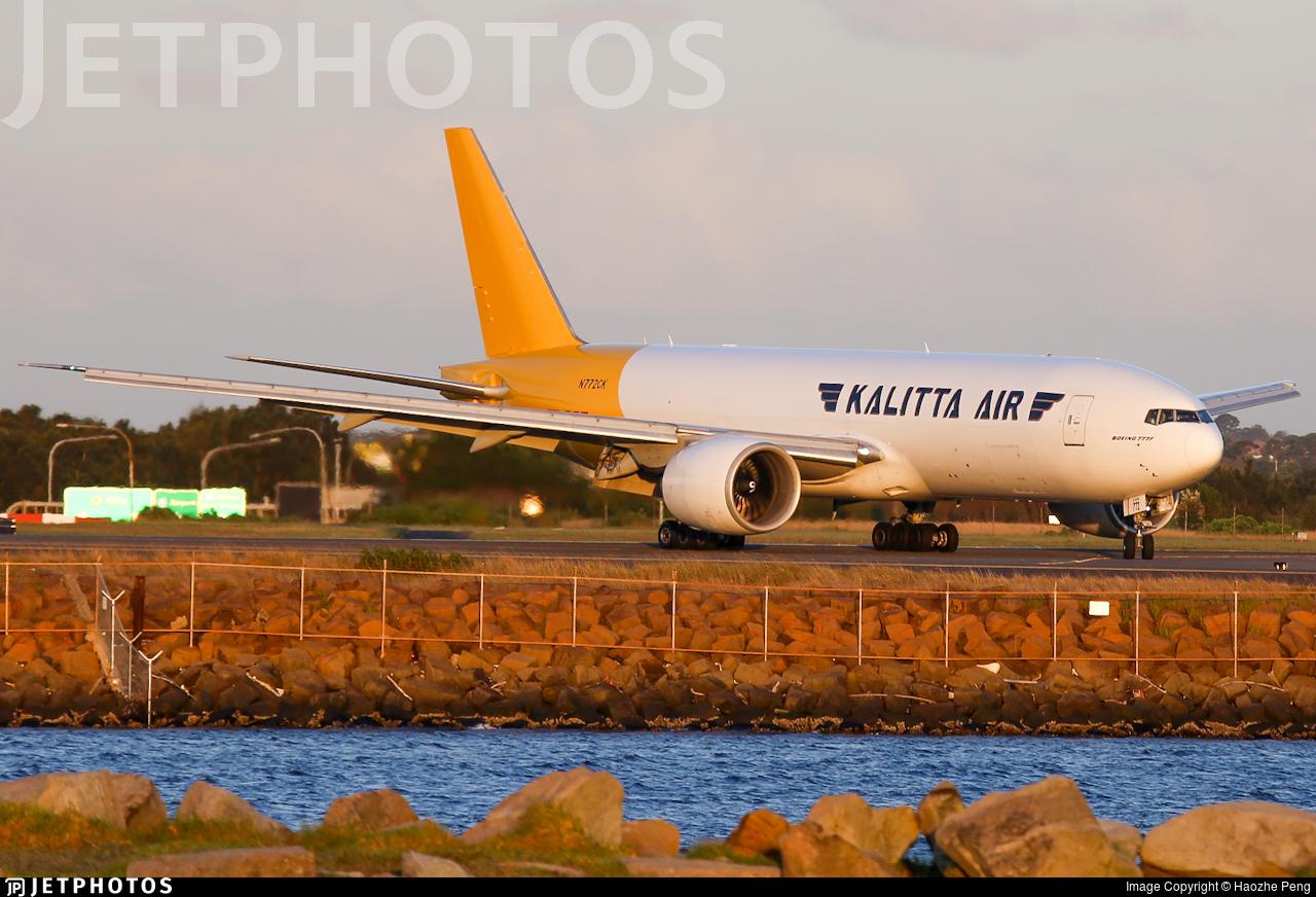 N772CK - Boeing 777-F1H - Kalitta Air