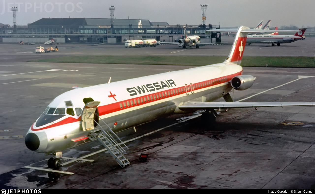 HB-ISM - McDonnell Douglas DC-9-51 - Swissair