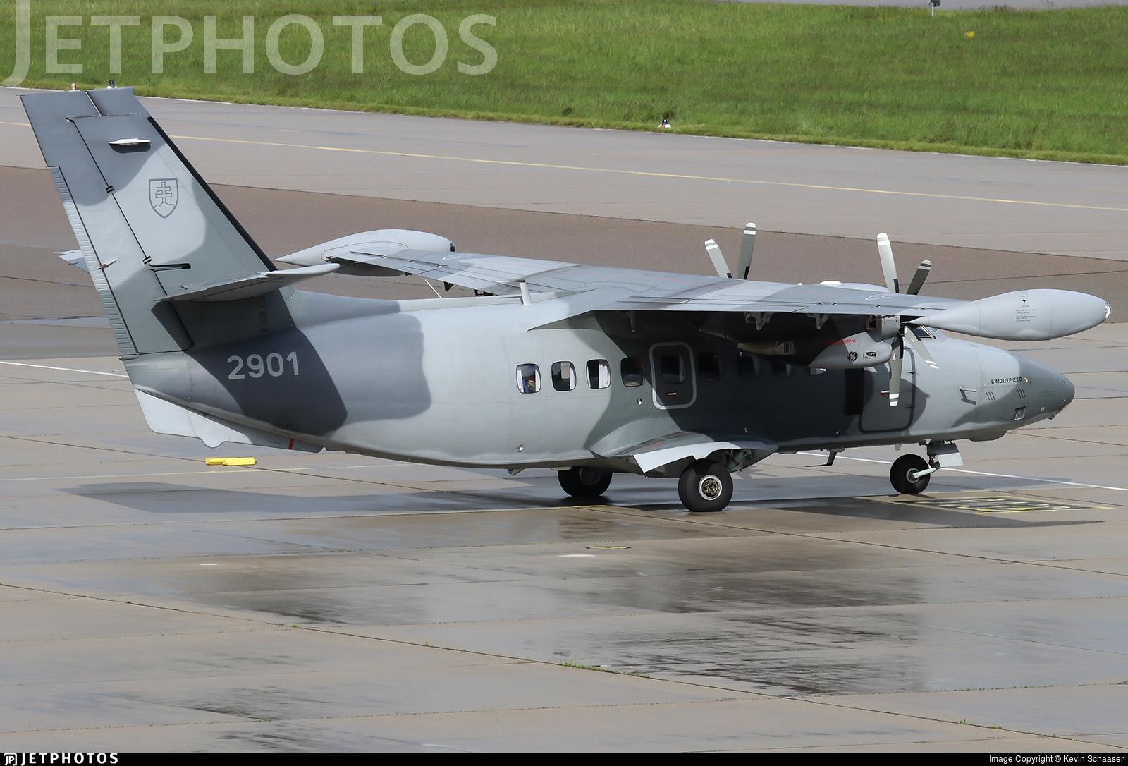 2901 - Let L-410UVP-E20 Turbolet - Slovakia - Air Force
