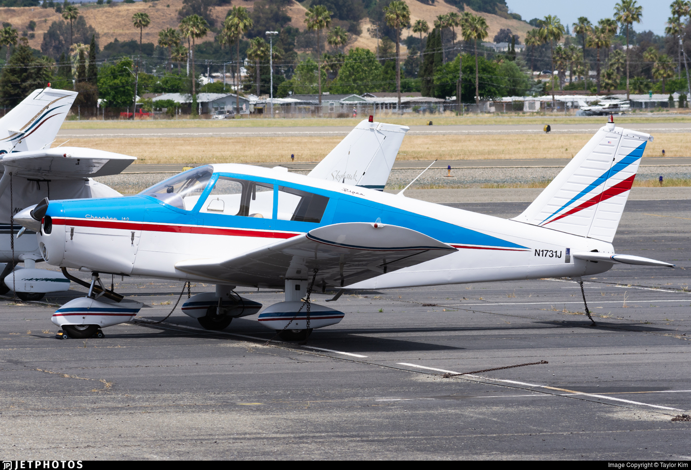 N1731J - Piper PA-28-140 Cherokee - Private