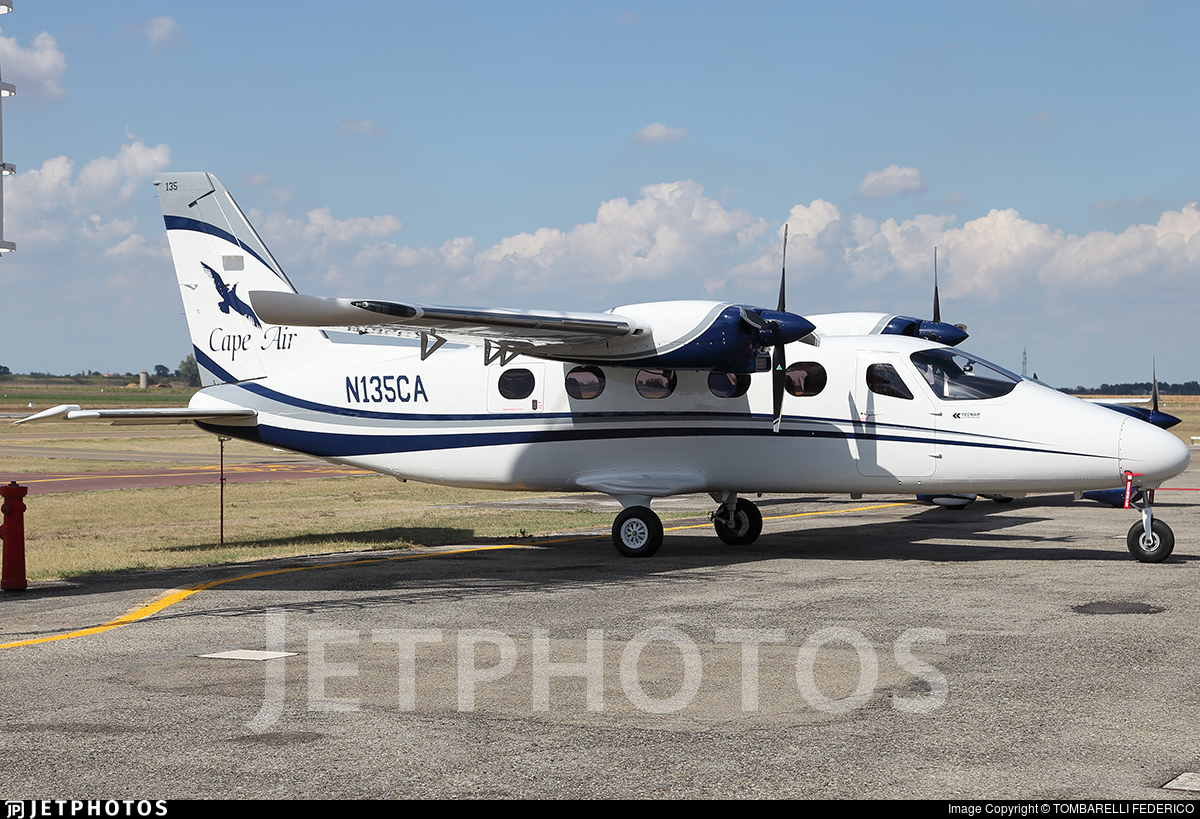 N135CA - Tecnam P2012 Traveller - Cape Air
