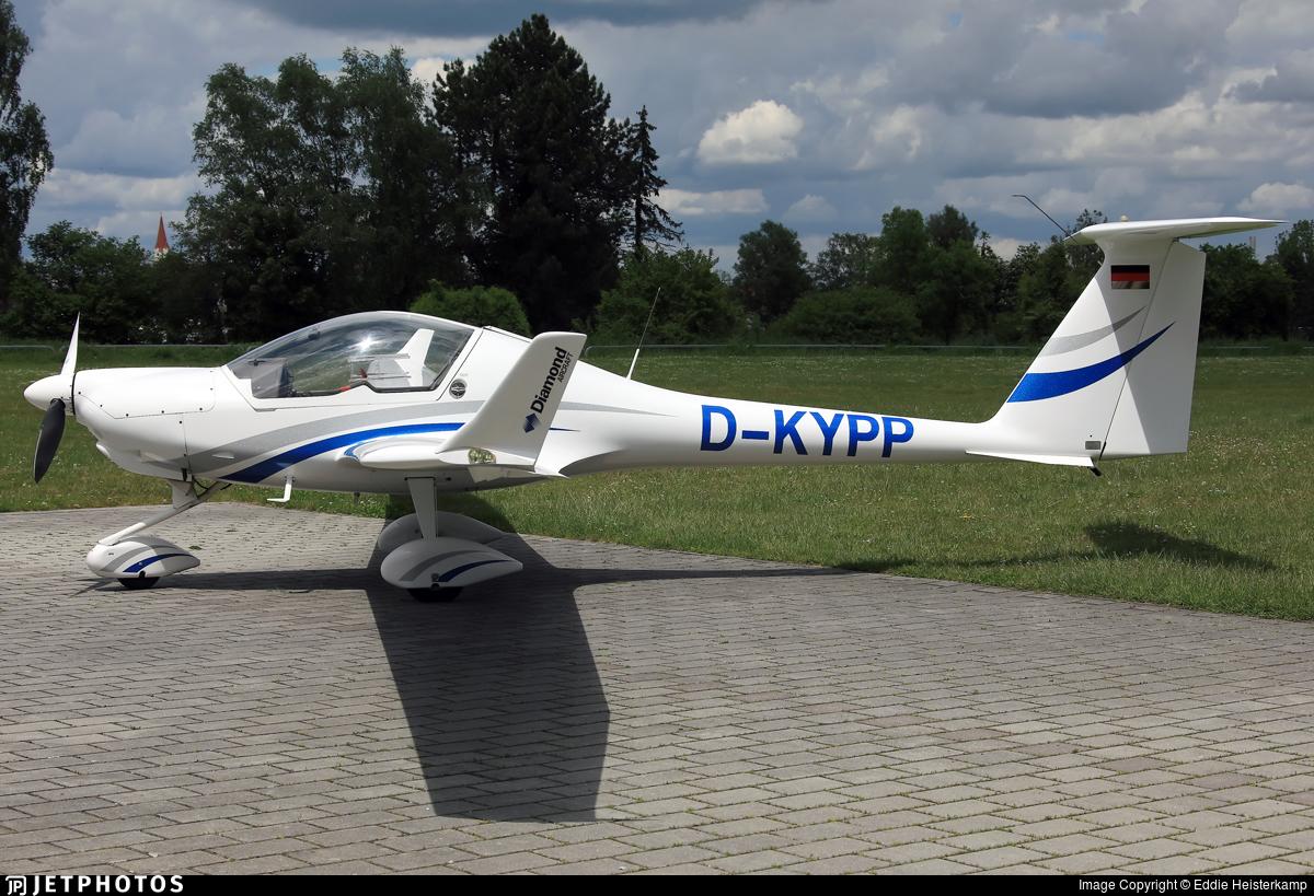 D-KYPP - Diamond Aircraft HK-36TC Super Dimona - Private