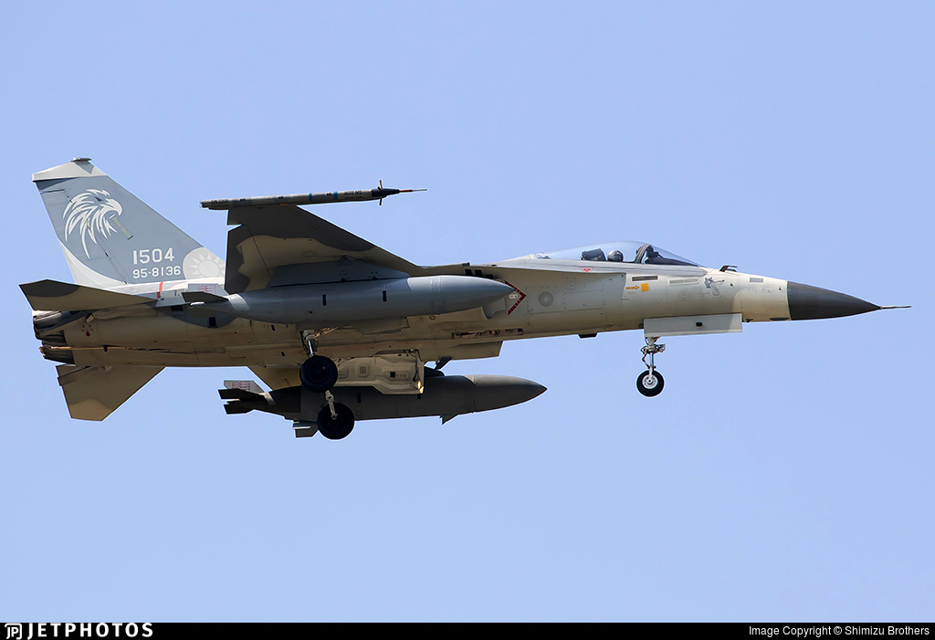 1504 - AIDC F-CK-1C Ching Kuo - Taiwan - Air Force