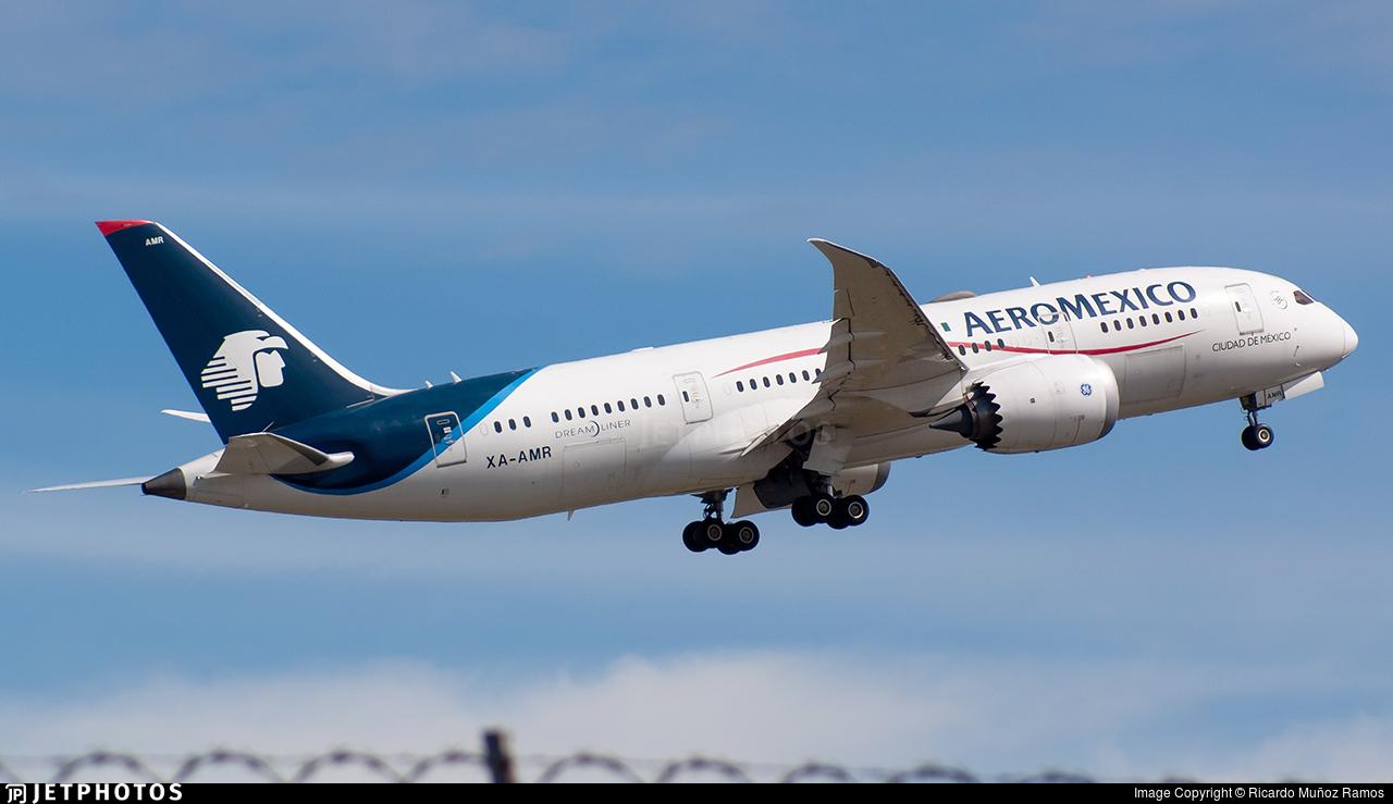 XA-AMR - Boeing 787-8 Dreamliner - Aeromexico