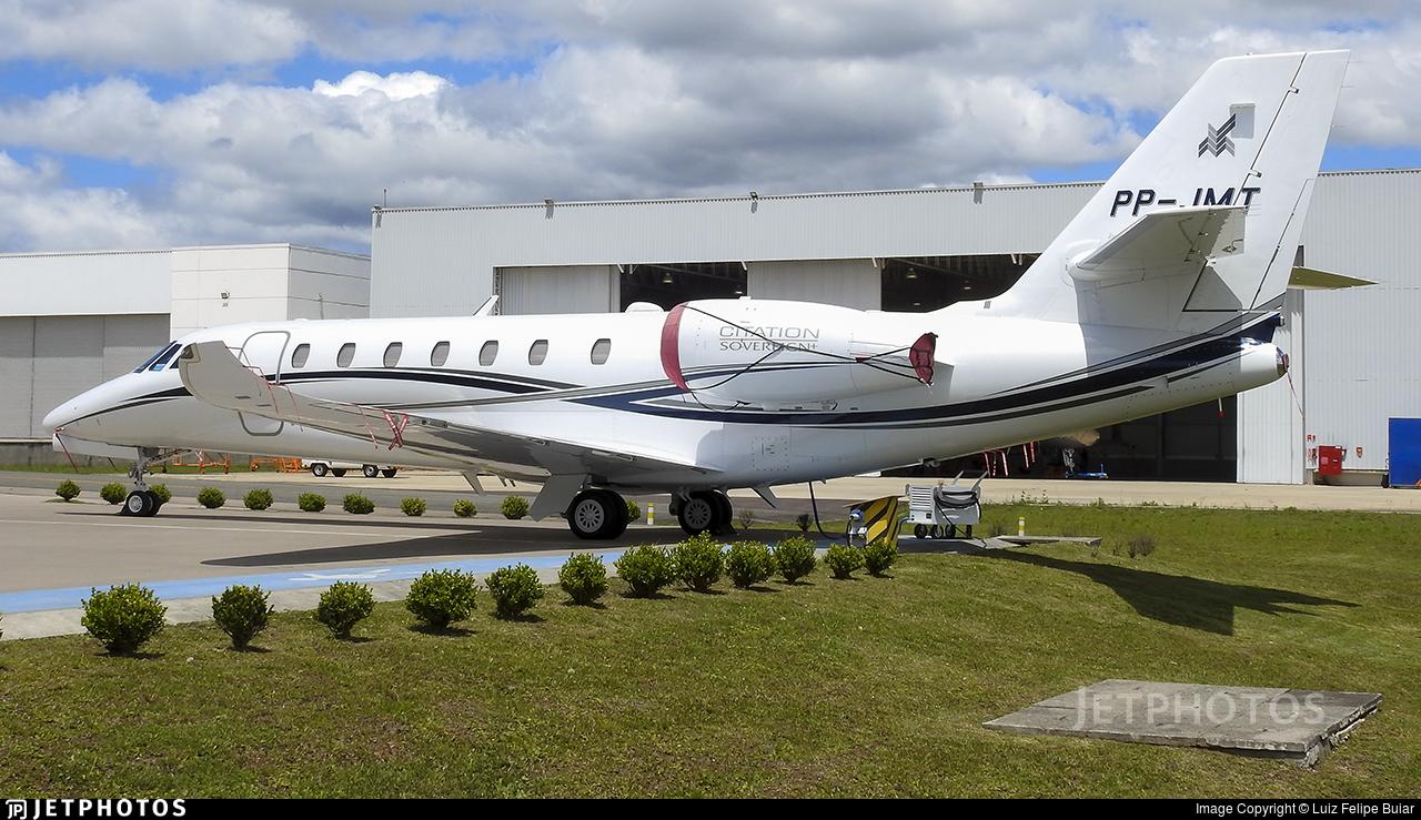 PP-JMT - Cessna 680 Citation Sovereign Plus - Private