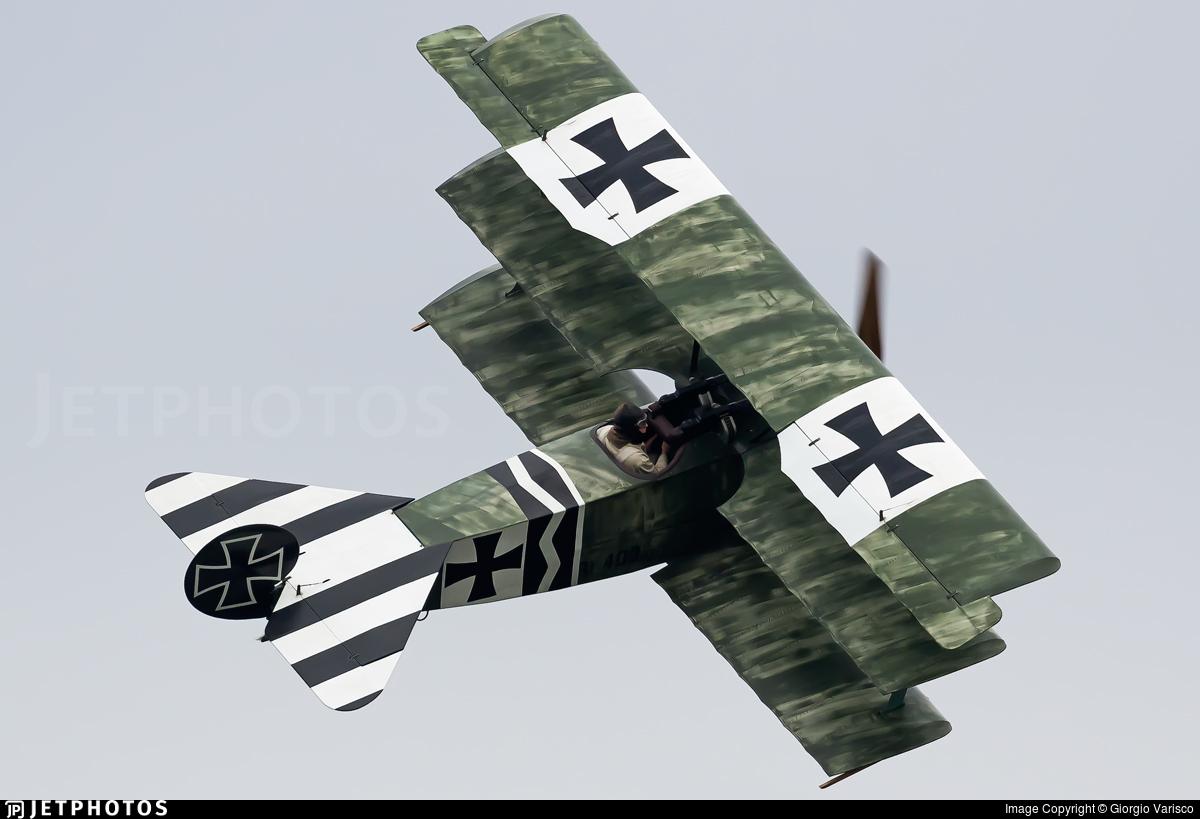 SE-XXZ - Fokker DR.1 - Private