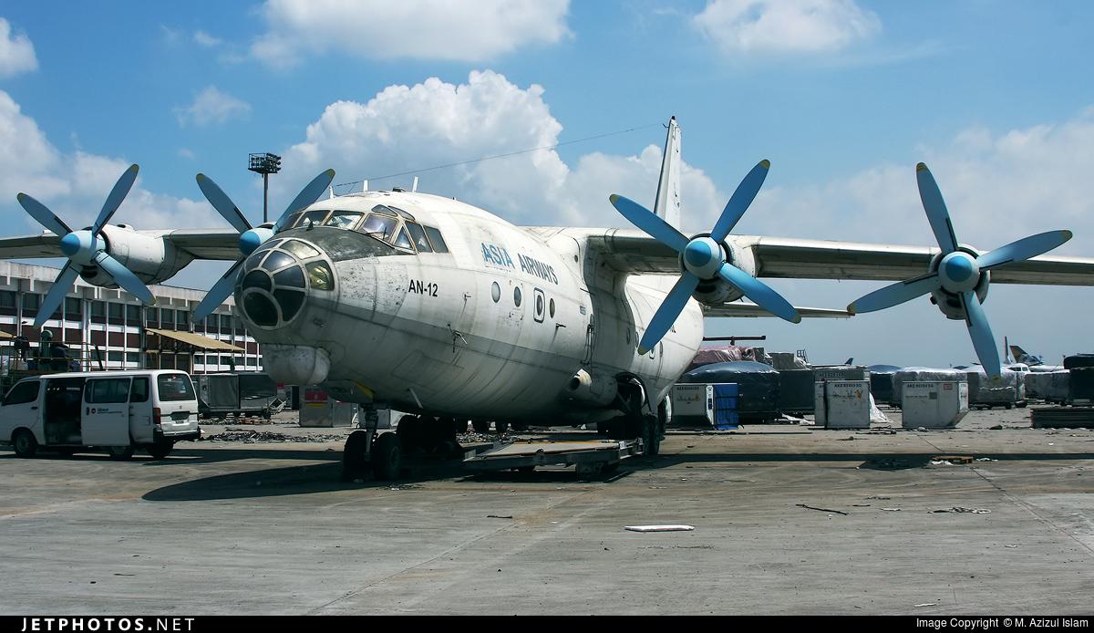 EY-402 - Antonov An-12BP - Asia Airways