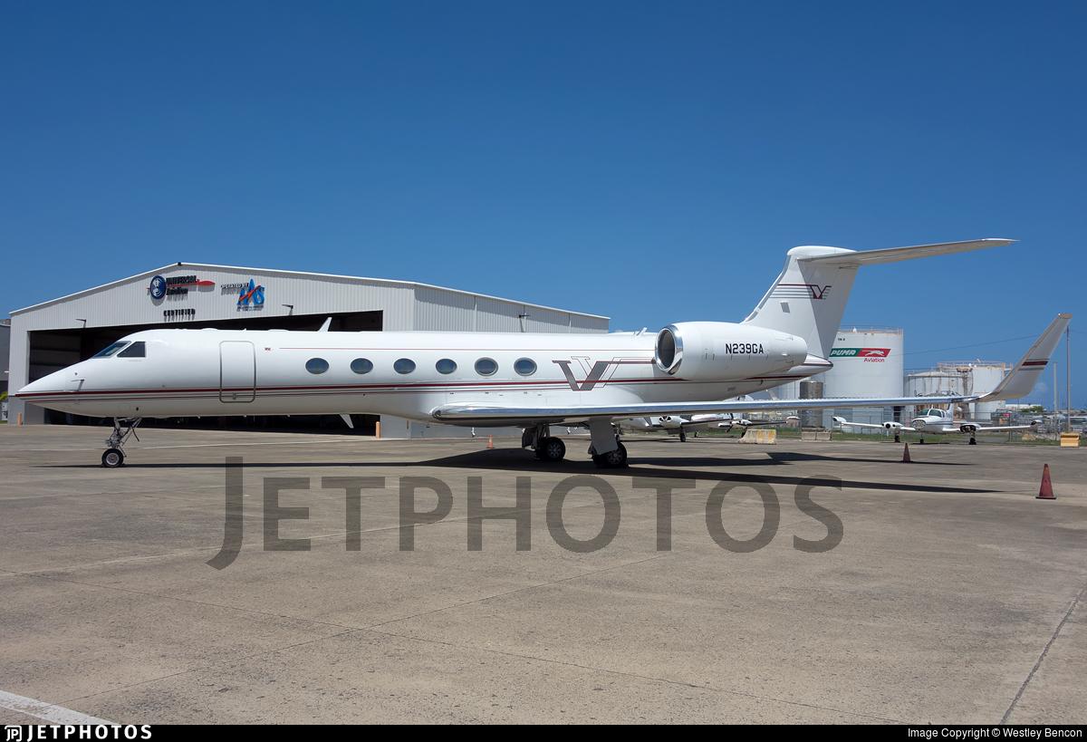 N239GA - Gulfstream G-V - Private