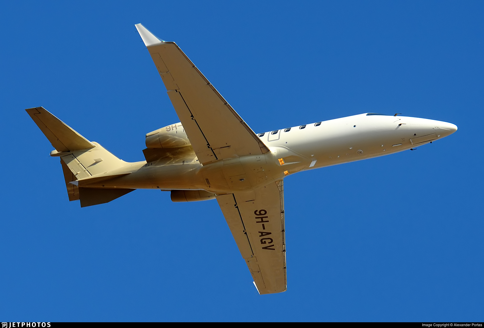 9H-AGV - Bombardier Learjet 40 - Private