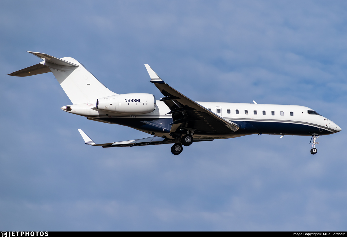 N933ML - Bombardier BD-700-1A11 Global 5000 - Private