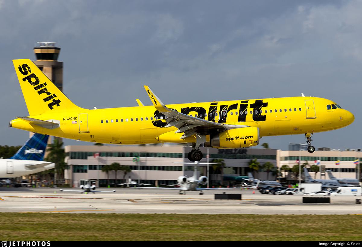 N620NK - Airbus A320-232 - Spirit Airlines