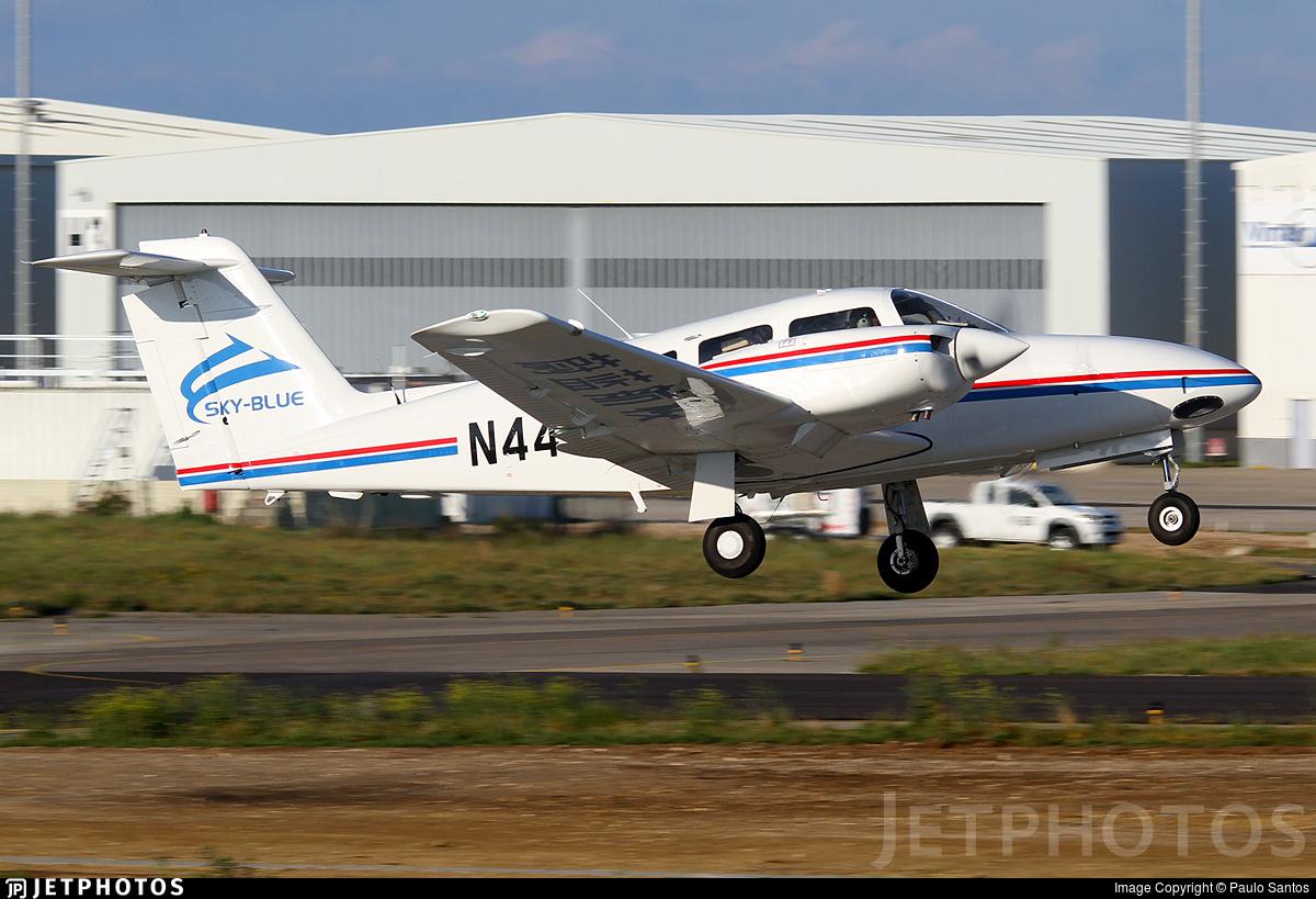 N4418E - Piper PA-44-180 Seminole - Hubei Sky-Blue International Aviation Academy