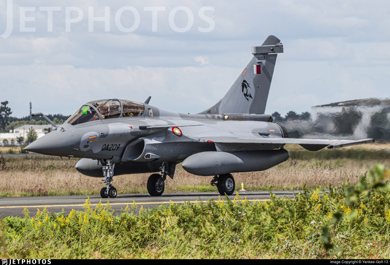 QA209 - Dassault Rafale DQ - Qatar - Air Force