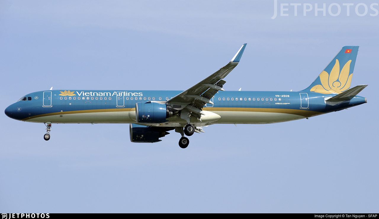 VN-A509 - Airbus A321-272N - Vietnam Airlines