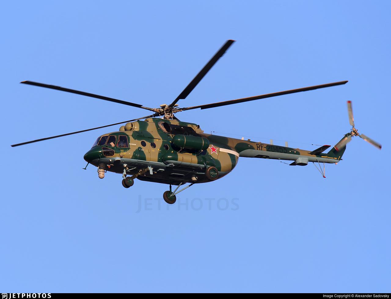 RF-20453 - Mil Mi-8AMTSh Hip - Russia - Federal Border Guards Aviation Command