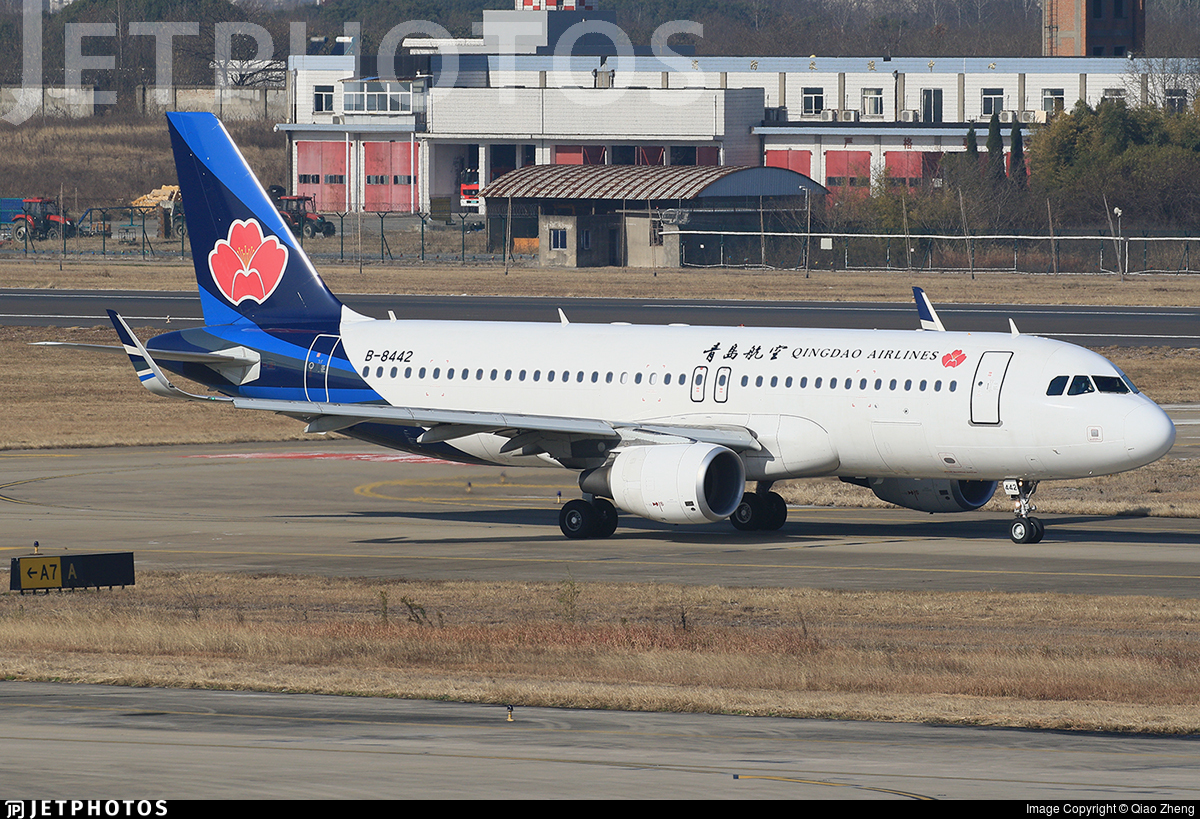 B-8442 - Airbus A320-214 - Qingdao Airlines