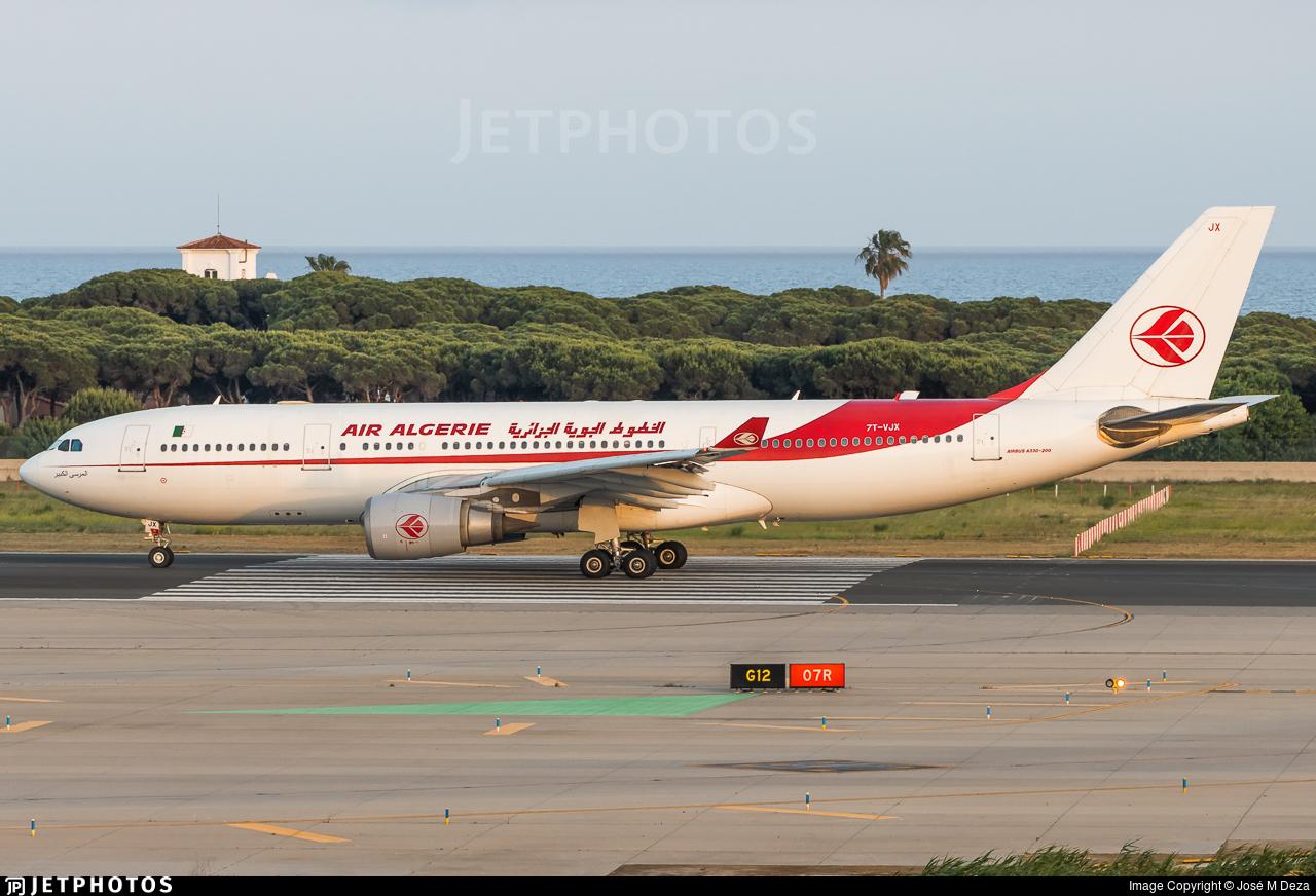 7T-VJX - Airbus A330-202 - Air Algérie